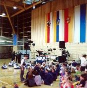 Showabend in der Turnhalle